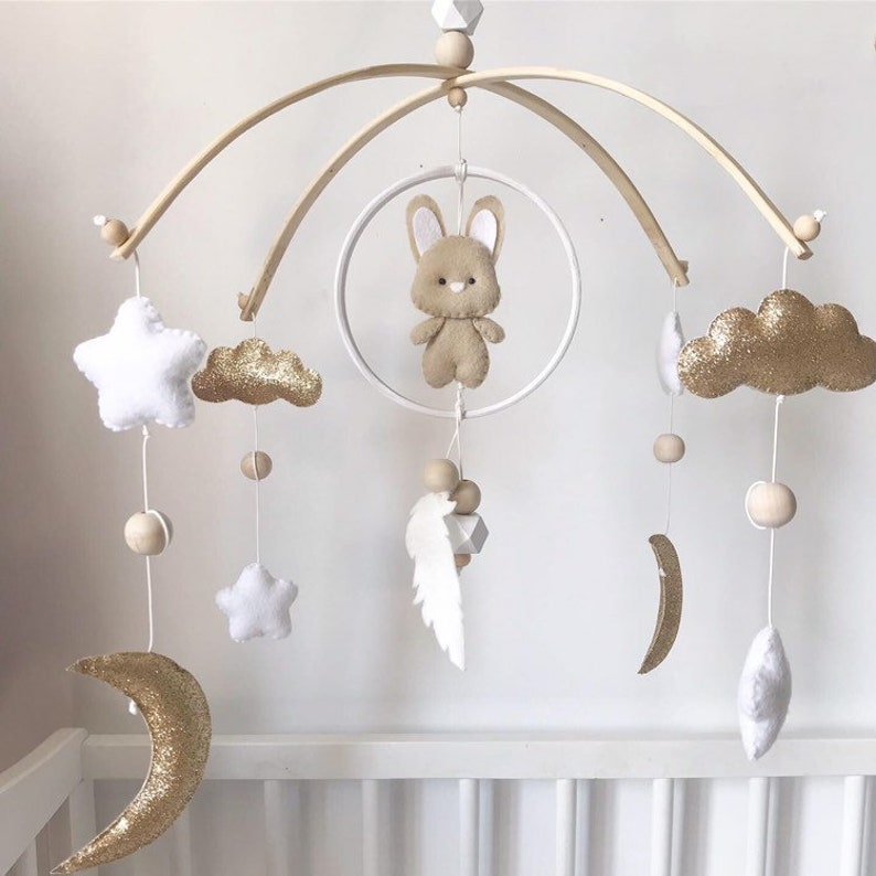 Mobile for baby Dreamy Rabbit
