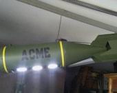 WW2 Replica bomb pool table light