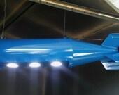 WW2 replica/dummy bomb pool table light