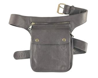 Hip Bag Cro-XL Hip Bag Travel Bag Leather Leather Bag / Holster Bag / Leather Bag / Handmade / Unisex