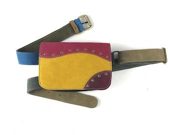 Hip Bag Bag Hip Bag Travel Bag Leather Bag Leather Holster Bag Leather Hip Pouch / Handmade / Travel Bag