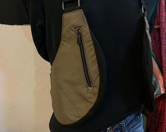 Cartridge Cases Festival model VIETNAM shoulder holster bag waist pouch utility belt cotton sling bag / Adjustable Straps / Hand made