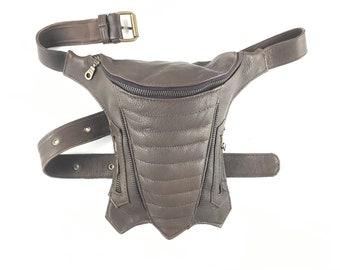Hip Bag Bag Hip Bag Hip Bag Leather Bag Holster Leather Leather Hip Pouch / Handmade / Unisex