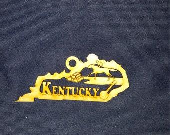 Kentucky state ornament
