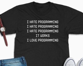 6ff763e7cd1 Programmer t shirt