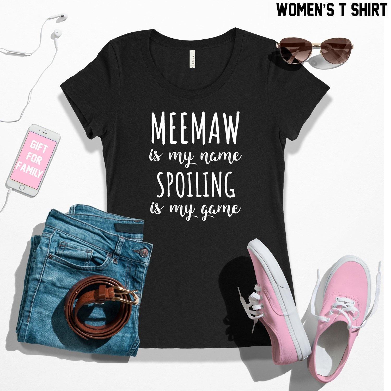 Nana A Woman With Grandchildren.. - Women T-shirt Nana Gift Nana Shirt