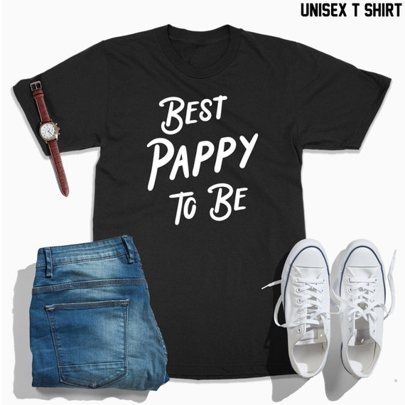 53f0ebbe305c3 Pappy to be shirt, best pappy to be tshirt, pappy gift, pregnancy  announcement gift, grandpa to be, new grandpa, promoted to grandfather pop