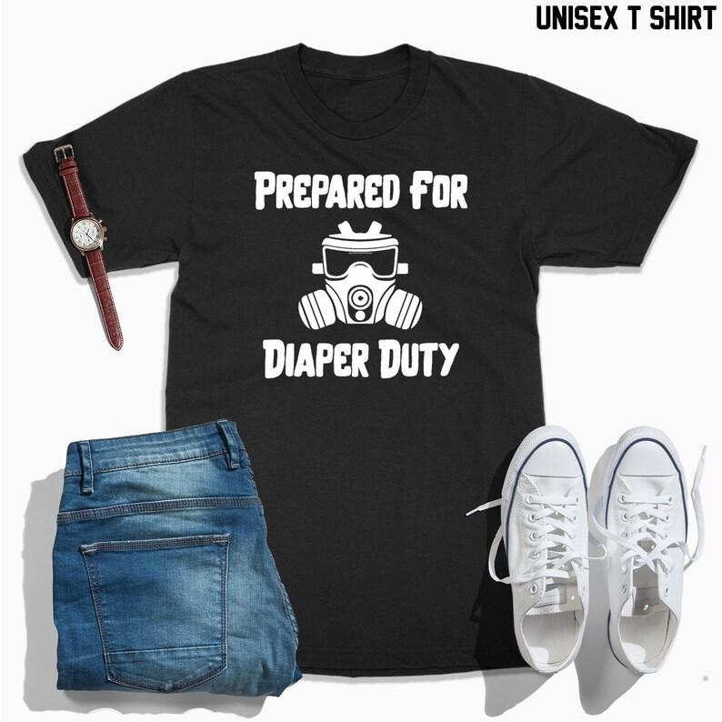 bdbd9eb6e Prepared for diaper duty shirt Baby shower gift baby | Etsy