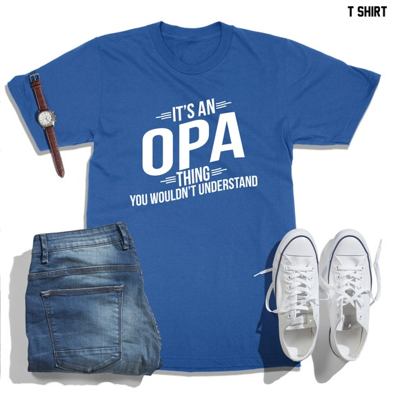 Custom Toddler T-Shirt If I Could Talk Would Say Love My Opa Boy /& Girl Clothes