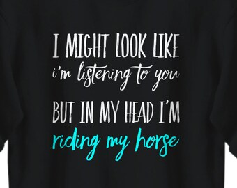 Horse Sweatshirt, Horse lover gift, Sweatshirt for the real horse lover, Womens horse sweatshirt
