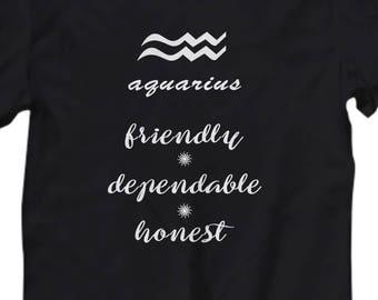 e9495947 Aquarius women shirt | Etsy