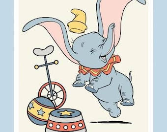 Disney Dumbo Panel 1 Yard