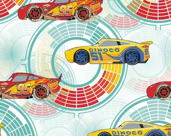 Disney Pixar Cars Need For Speed Fabric in various lengths
