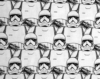 Star Wars Classic Storm Troopers Graphic Art Fabric by the yard or fat quarter only