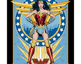 This Will Not Ship Until Jul/Aug 2020, Please Read Item Description On How To Order This Item, Wonder Woman 1984 Panel 1 Yard Panel