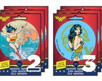 Wonder Woman Patches Adhesive Fabric 3in Patch Badge
