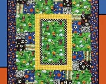 Game Play Quilting Pattern