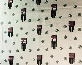 Minecraft Fabric by by the half yard and full yard and other various lengths
