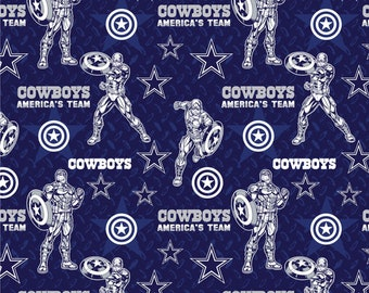 This Will Not Ship Until October 2020, Read Item Details On How To Order, Dallas Cowboys and Captain America fabric in various lengths