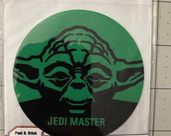Yoda Patch, Star Wars Patch Adhesive Fabric 3in Patch Badge