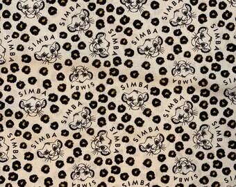 Lion King Fabric, Simba Fabric, Disney Lion King Fabric, Disney Simba Toss Fabric by various lengths