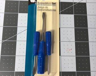 Sewing Machine Screwdriver Set 3pc