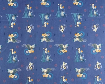 Disney Frozen Fabric Featuring Queen Elsa By The Yard and half yard and other various lengths