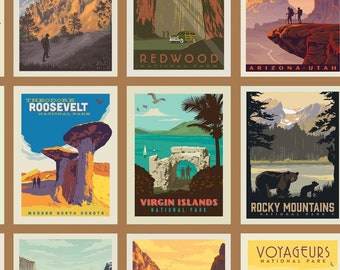 National Parks Posters Sand by the yard and other various lengths (Backorder/Reorder Item with est date of arrival July 2020)