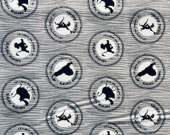 Disney The Lion King Medallions Grey in various lengths