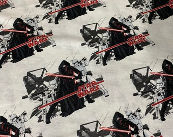 Star Wars Kylo Ren and Various Storm Troopers by the yard and half yard and other various lengths