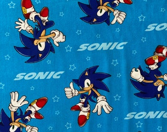 Sonic the Hedgehog Fabric