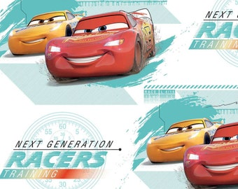 Cars Fabric, Pixar Fabric, Disney Pixar Fabric, Pixar Friends Fabric in various lengths