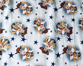 Disney Toy Story Woody Fabric by the yard and half yard and other various lengths