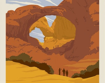 Arches National Parks 1 Yard Panel