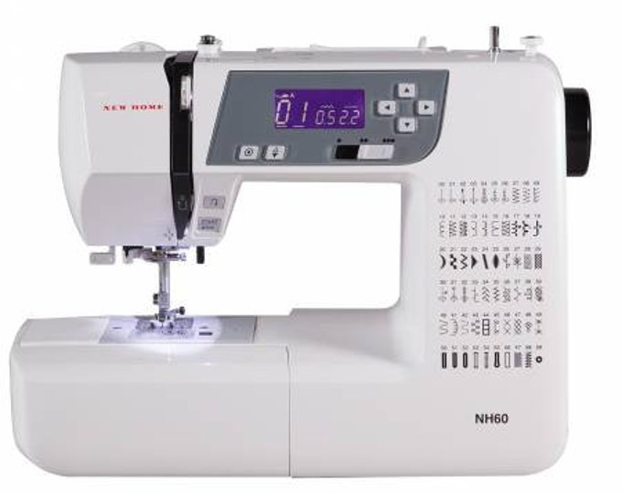 Featured listing image: New Home Computerized Sewing Machine - Model NH60