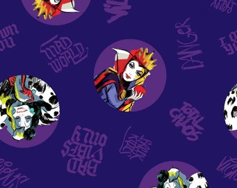 Villains Toss Disney Fabric By The Yard and other various lengths