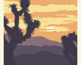 Joshua Tree National Parks 1 Yard Panel