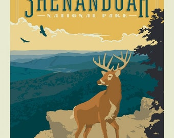 Shenandoah National Parks 1 Yard Panel