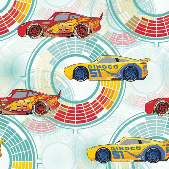 Disney Pixar Cars Fabric