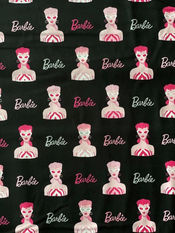 Barbie Black Fabric