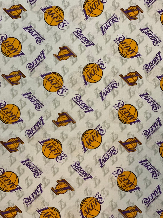 Los Angeles NBA Fabric in various lengths