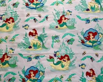 Little Mermaid Fabric By The Yard