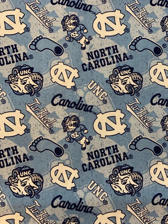 University of North Carolina Toss Fabric