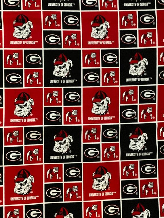 Georgia Bulldogs Fabric