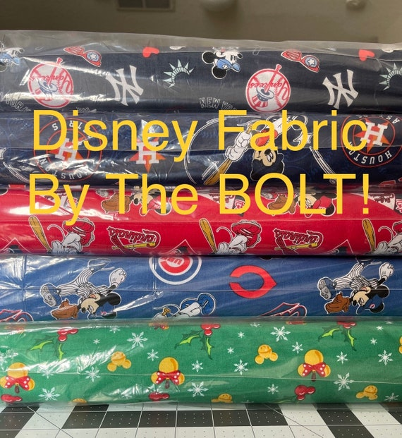 Mickey Mouse Fabrics by the bolt