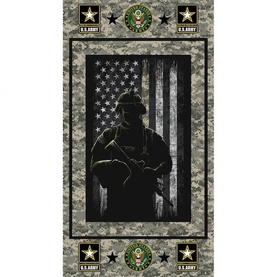 US Army Fabric Panel