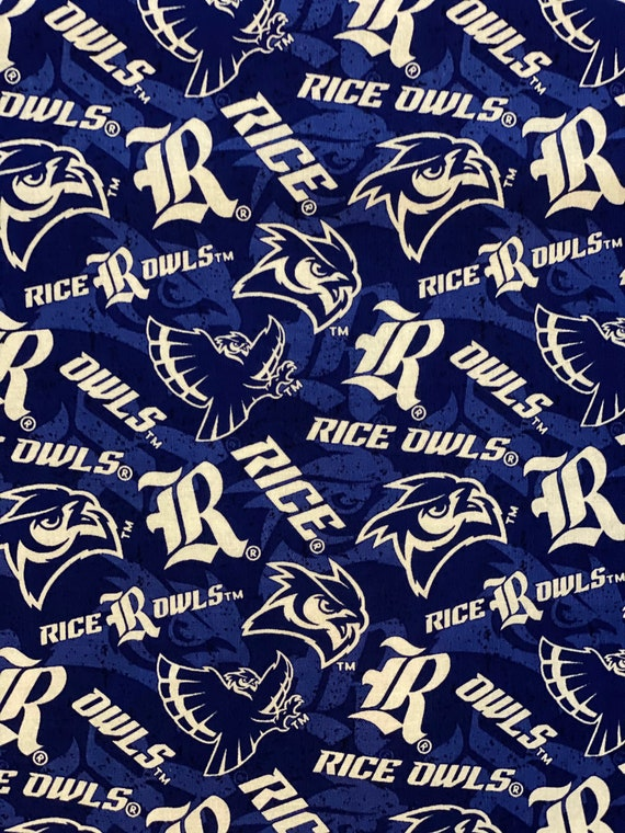 Rice University Owls Fabric