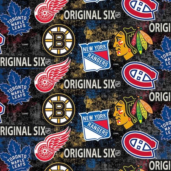 The Original Six Fabric, Hockey Fabric