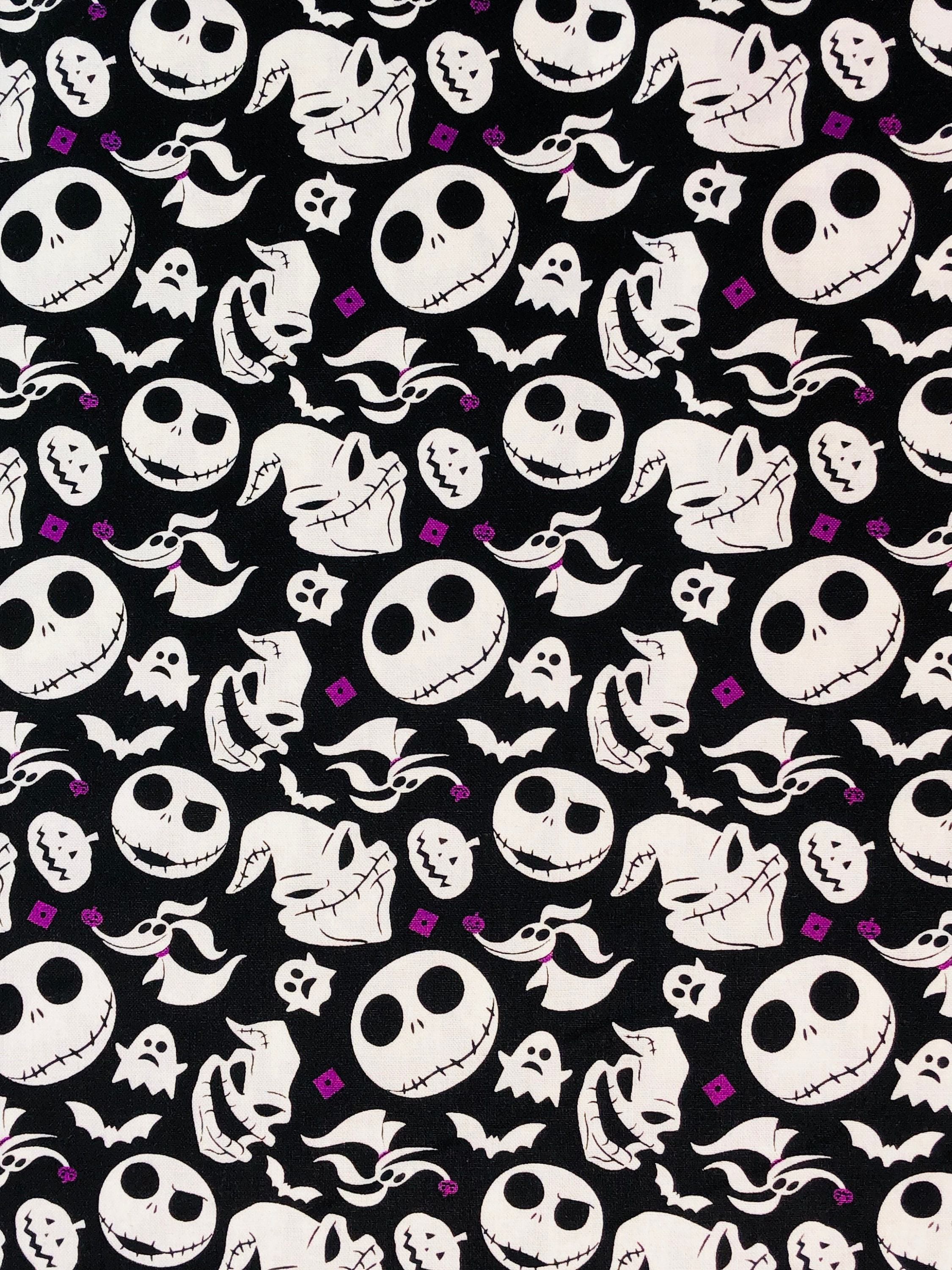 NEW Disney Nightmare Before Christmas Black Heads Tossed by the yard