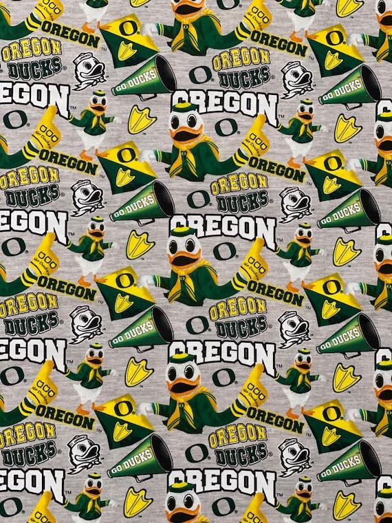Oregon Ducks Fabric